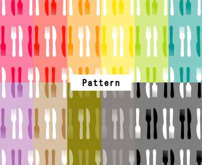 K&Fパターン(手描き風)11色