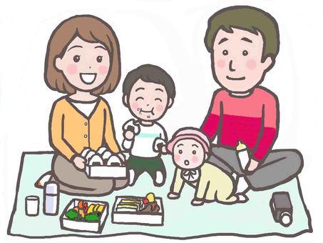 가족 피크닉