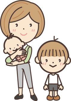 Freelance maternal family