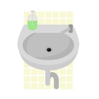 Hand wash sink 2