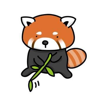 小竹子喜歡竹草