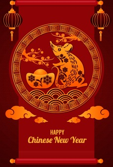 Chinese New Year 2020 Greeting Card 15