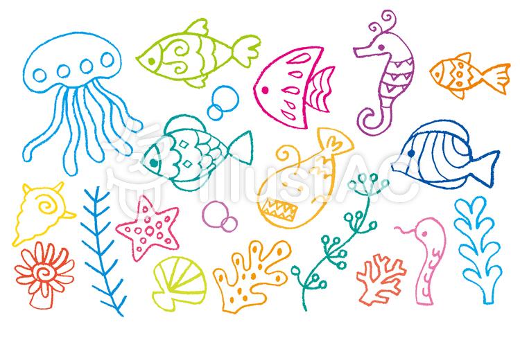 深海魚イラスト No 491823無料イラストならイラストac