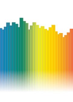 Rainbow color bar