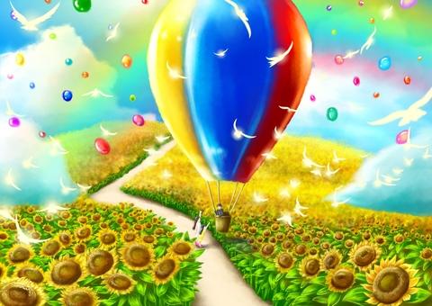Sunflower fairy tale