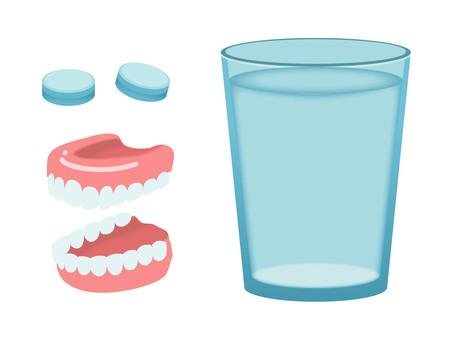 Dentures set