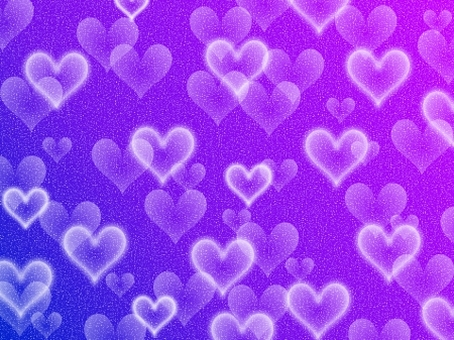 Background material * sparkling heart