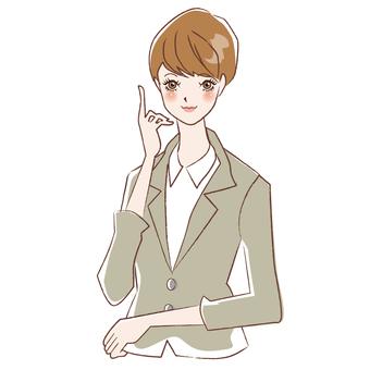 Suit short women short 1