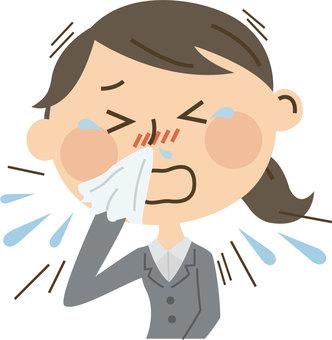 Suit Women hay fever 4