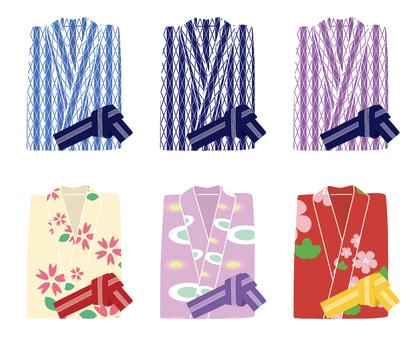 Yukata 6 kinds