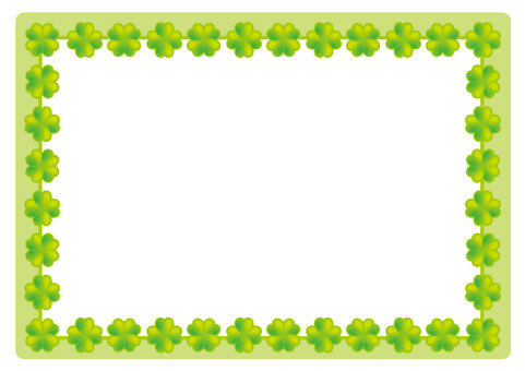 It is a clover frame