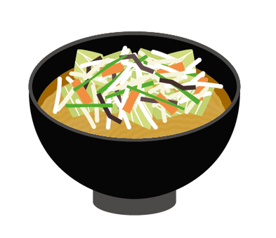 Ramen miso vegetables