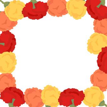 Carnation background (transparent)