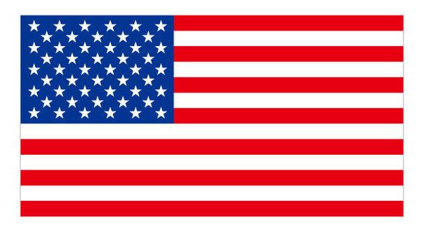 American flag USA stars and stripes