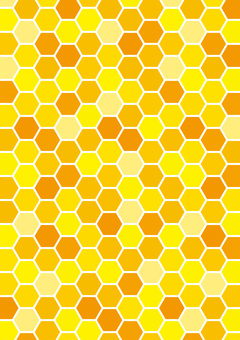 Honeycomb vertical position (with white line)