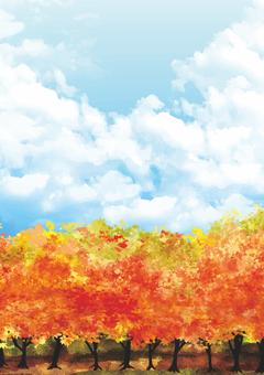 가을의 풍경 (세로)