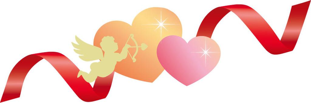 Heart Angel Ribbon