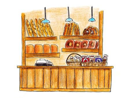 Baker's counter