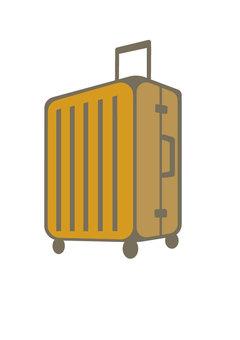 Suitcase (orange)