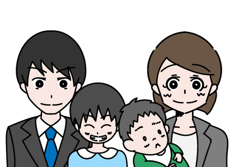 4-person family