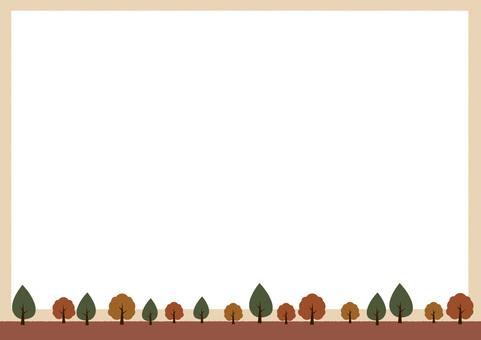가을 같은 프레임
