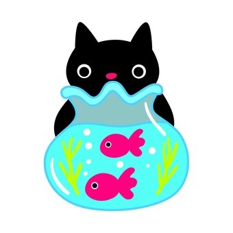 Cats and fish bowls