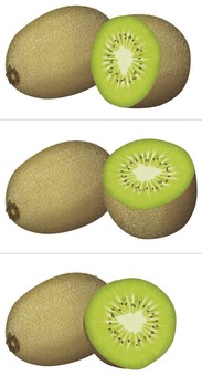 Kiwi (dark color) / fruit