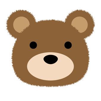 곰의 얼굴