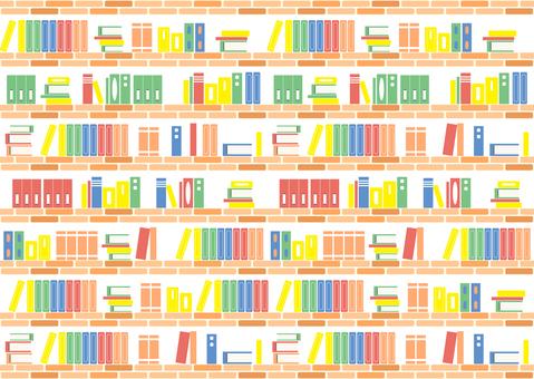Bookcase brick