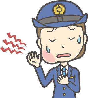 Female Police Officer-241-Bust