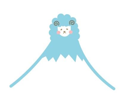 Fuji goat blue