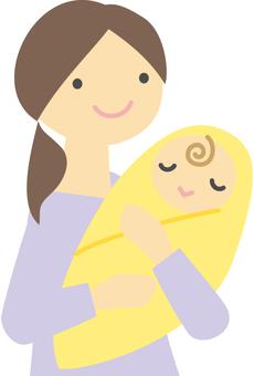 아기와 여성