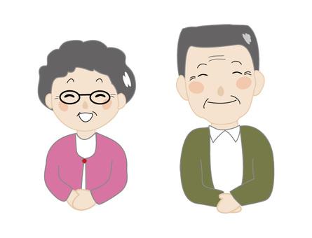 Senior couple 4 Smile