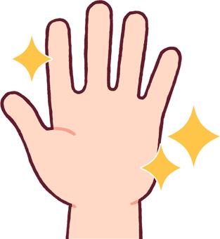 깨끗한 손
