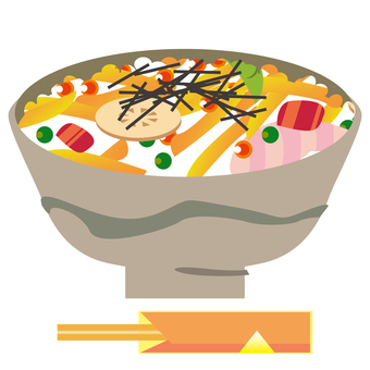 Flyer sushi (bowl)