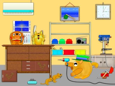 Repair of furniture by everyone! E0379