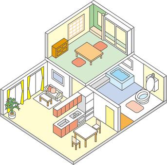 2 stories interior 2