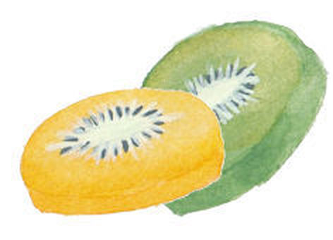 Kiwi round cut