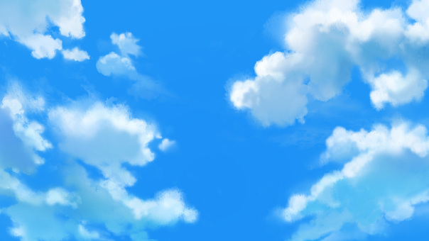 푸른 하늘 03 (적운)