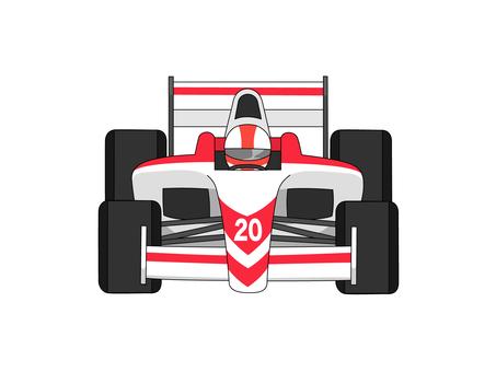 Formula car No. 2