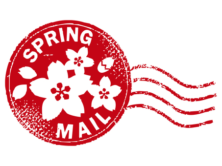 Spring stamp 001