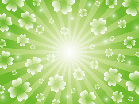 Clover radial background