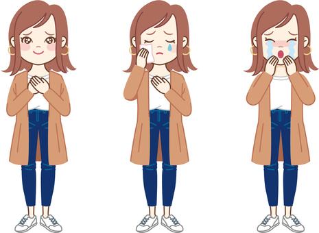 Bob woman_crying face